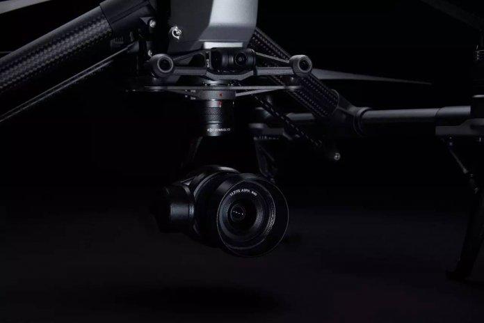 Inspire 2 camera