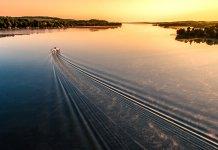 Sunrise Lake Wake-Inspire 1 X3