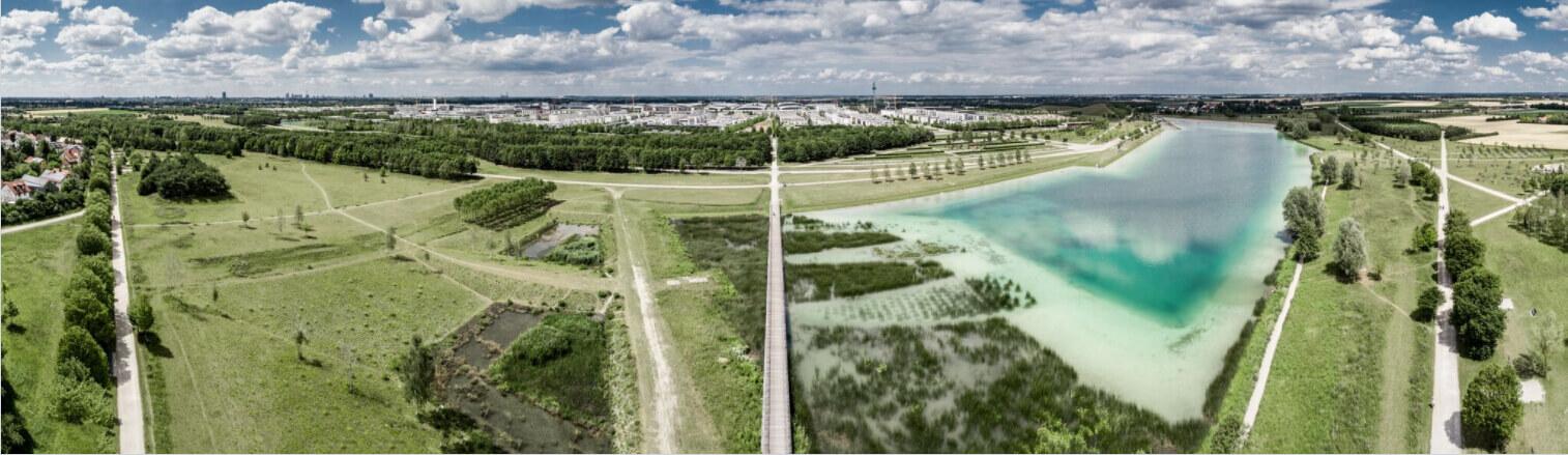 Take an aerial panorama-Mavic Pro