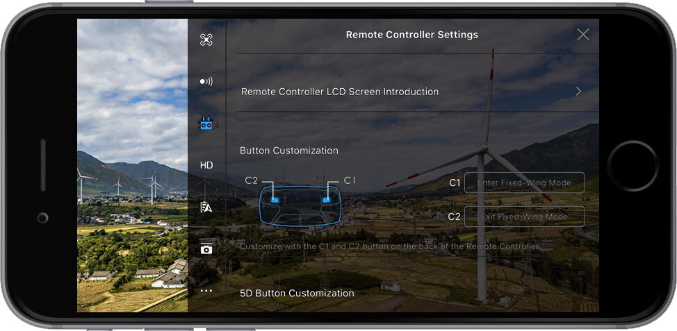 DJI Go 4 Manual Remote Controller Settings 1