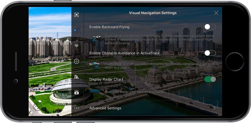 DJI Go 4 Manual Visual Navigation Settings 1