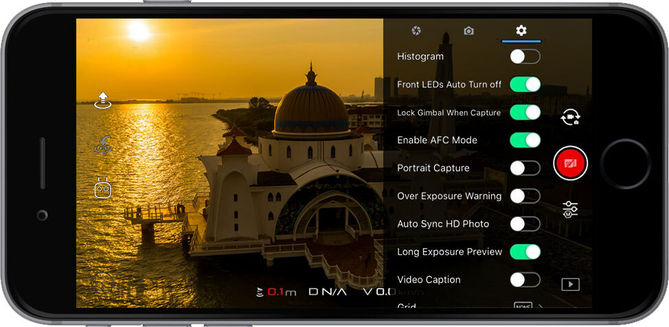 DJI Go 4 Manual Camera Settings Extra 1