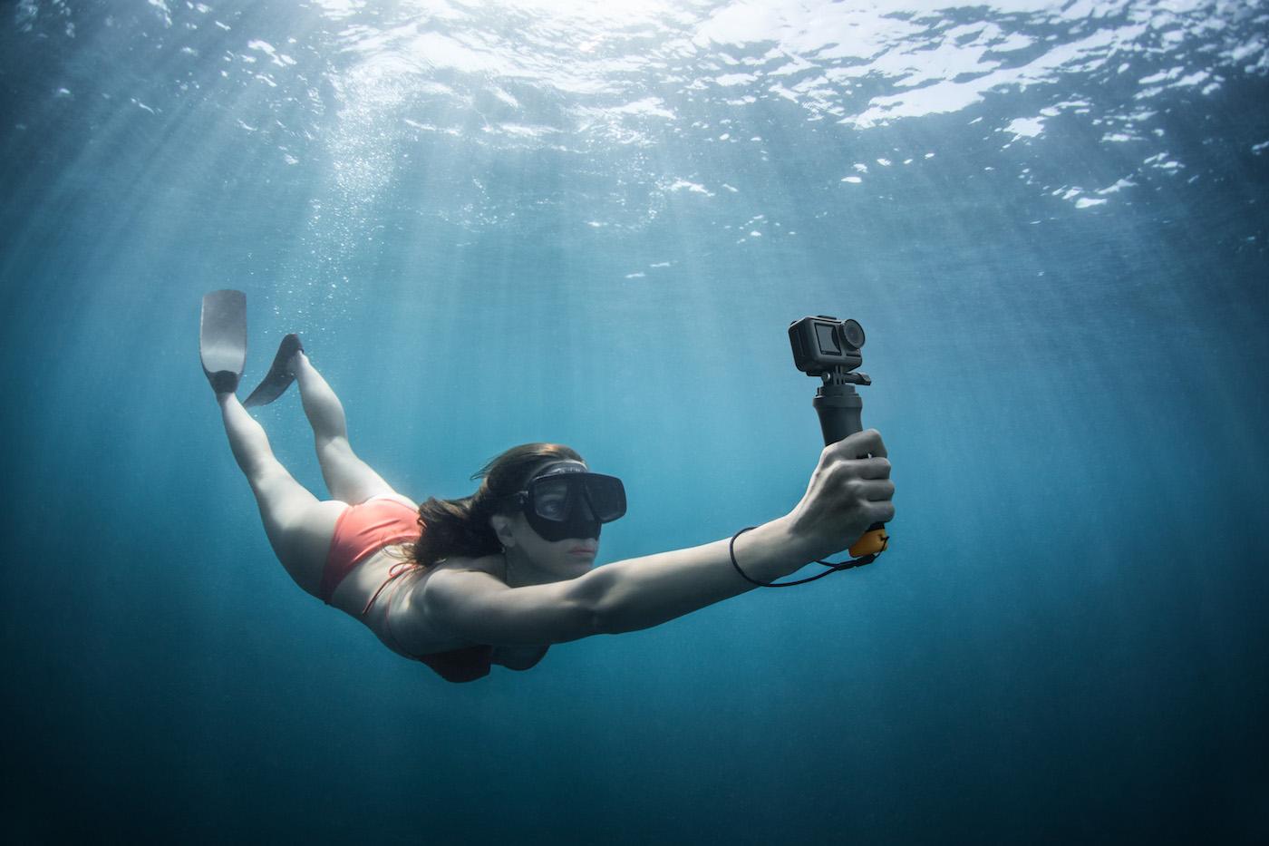 Osmo Action underwater