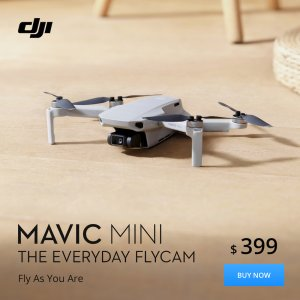 Mavic Mini price and slogan