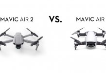 Mavic Air 2 vs. Mavic Air