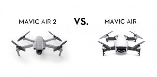 Mavic Air 2 vs. Mavic Air