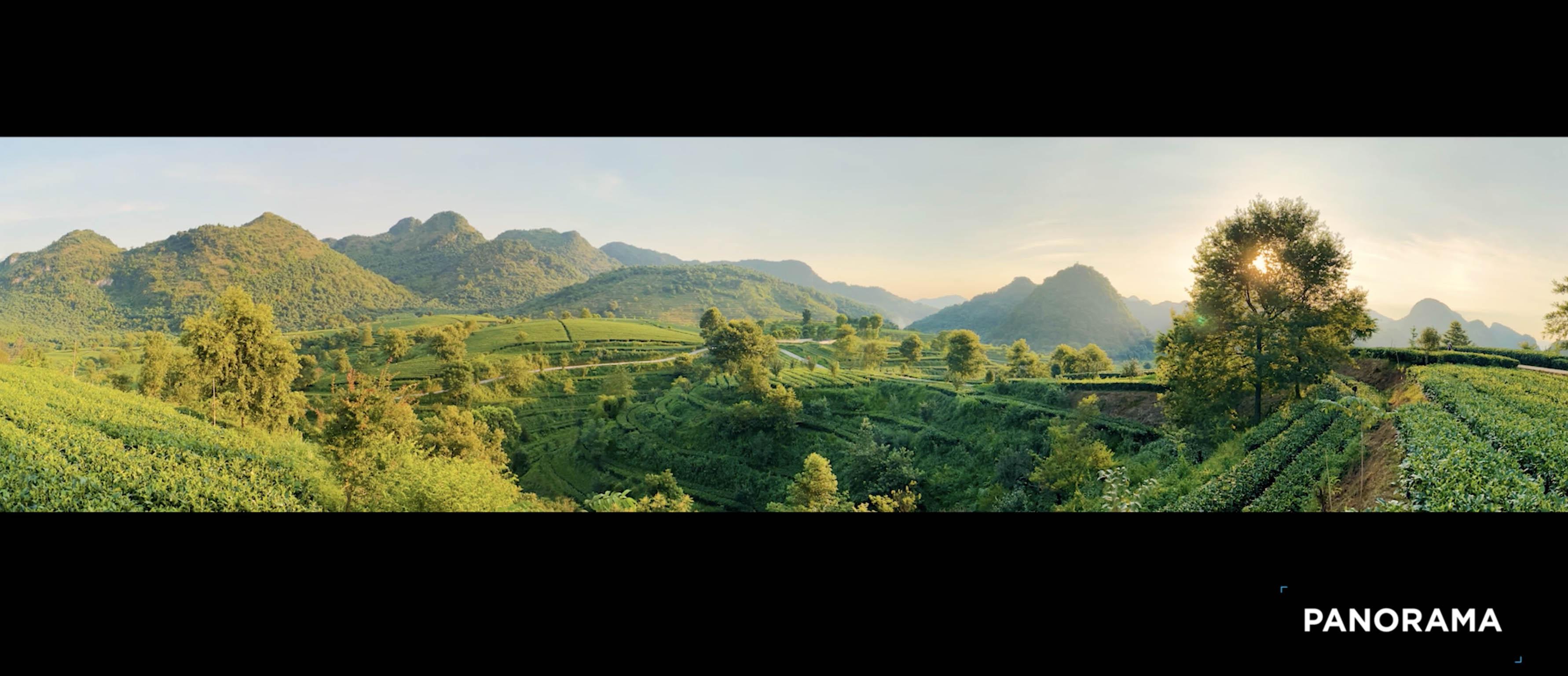 DJI OM 4 3X3 panorama
