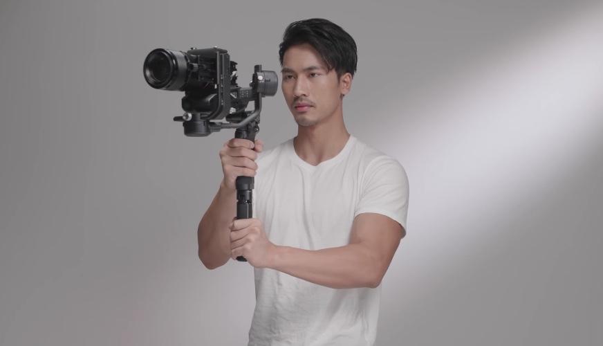 camera gimbal using scenario