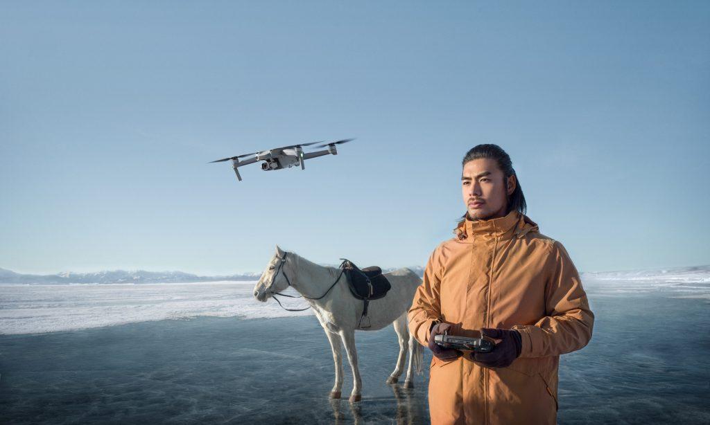 DJI Air 2S drone transmission