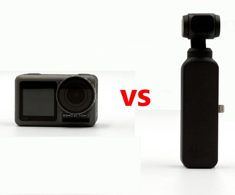 1인 미디어 방송용 카메라, DJI 오즈모 Pocket? 오즈모 Action?